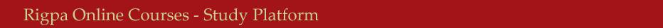 Rigpa Online Courses - Study Platform