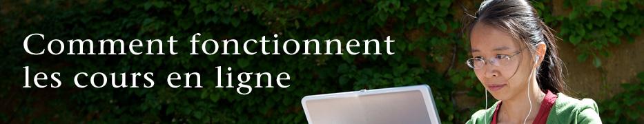 Comment fonctionnent les cours en ligne